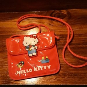Host Pick 12 3 19 Vintage 80's Hello Kitty purse